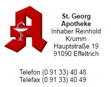 St. Georg Apotheke Effeltrich
